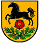Stadtwappen Rosengarten